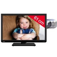 24D1433DG - schwarz - LED/DVD-Kombigerät