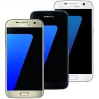 Samsung Galaxy S7 Smartphone - 32GB - Weiß/Schwarz/Gold Handy