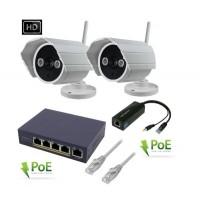 IP-KCAM628 - Videoüberwachungsset PoE