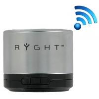 Tragbarer Lautsprecher Bluetooth Y-Storm - silber