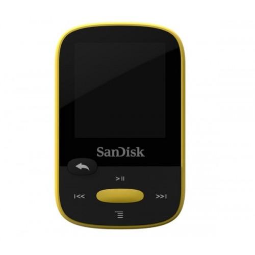Clip Sport - gelb - 4 GB - MP3-Player