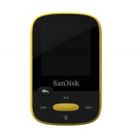 Clip Sport - gelb - 4 GB - MP3-Player